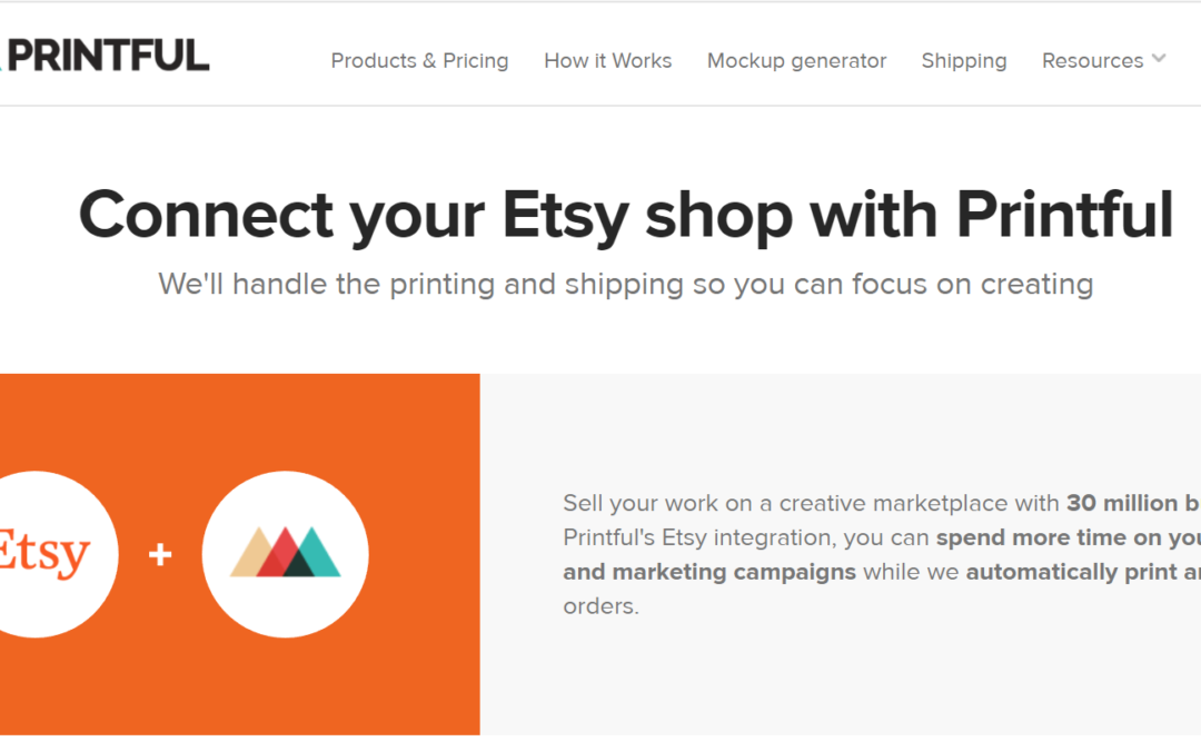 Amazon Update/ Etzy Store and Printful Integration